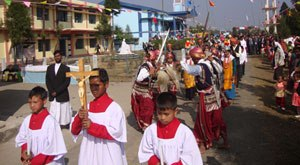Jubilee Celebration of Holy Cross Parish, Mawkynraw