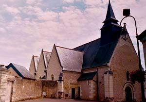 Parish Church in Ruillé-sur-Loir