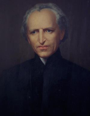 Painting of Blessed Moreau