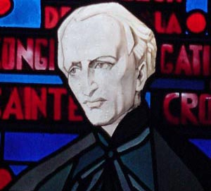 Stained Glass of Blessed Moreau