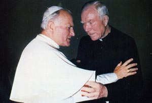 Blessed John Paul II and Servant of God Peyton