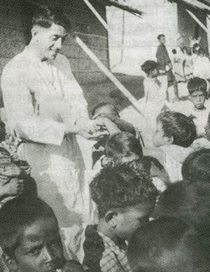 Servant of God Flavian with Kids