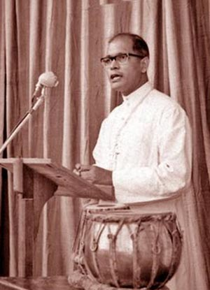 Servant of God Theotonius Ganguly Giving an Address