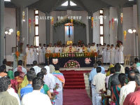Seven Profess Final Vows and Ordained Deacons in India
