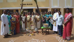 School Celebration in Tamil Nadu