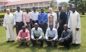 2013-2014 Novices in East Africa with the Novitiate Staff