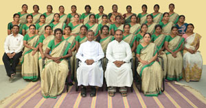 Teaching Staff at Holy Cross Matriculation School, Somarasampet, Trichy