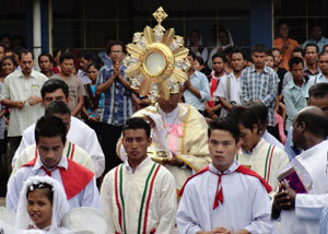 Eucharistic Procession in Northeast India