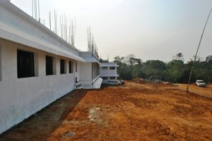 The First Phase of Holy Cross College Agartala
