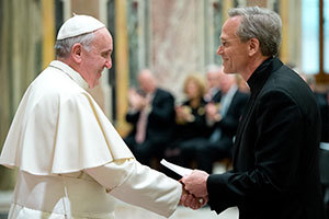 Pope Francis and Fr Jenkins