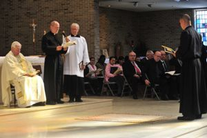 Br Nich presents himself for Final Vows