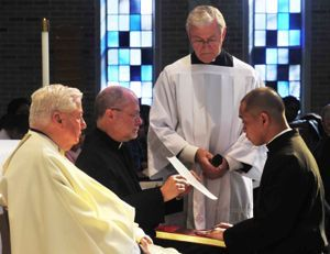 Br Nich professes his Final Vows to Br Zaydak