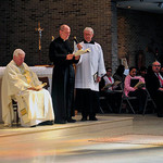Br Nich Perez, CSC, is presented for Final Vows (United States)