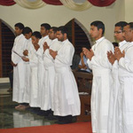 Twelve Seminarians are presented for Final Vows (India)