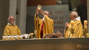 Mass on St Joseph's Day at the Oratory
