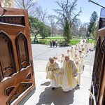 The Concelebrants line up for the Ordination Mass in the United States