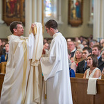 Vesting of the newly Ordained