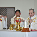 Concelebrating the Ordination Mass in Mexico