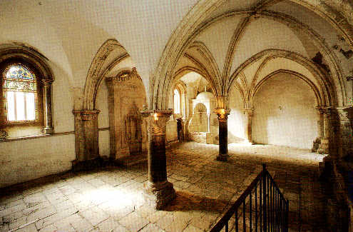 The Upper Room or Cenacle built where Jesus celebrated the Last Supper