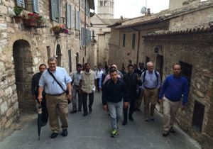 The Second Holy Cross Forum visits Assisi