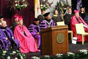 Fr Poorman's Inauguration as President at the University of Portland