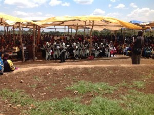 Jubilee Mass for St Brendan Parish in Kitete, Tanzania