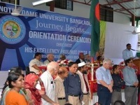 Notre Dame University Bangladesh Holds Its First Classes