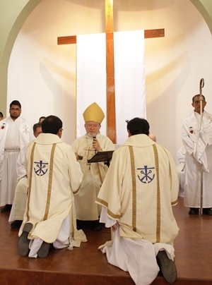 The Deaconate Ordination of Julio and David