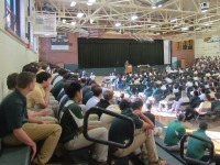High School Celebrates Holy Cross Heritage Week