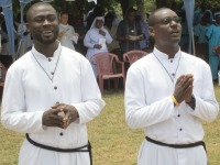 The Congregation in Ghana Celebrates the Final Professions of Two Brothers