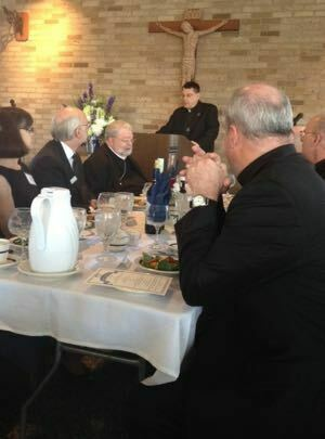 Fr Szakaly speaks at the 150th Anniversary Celebration for Ave