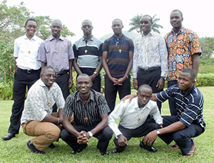 The 10 new novices in East Africa for 2015-2016