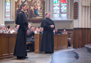 Matthew Hovde and Dennis Strach II present themselves for Final Vows