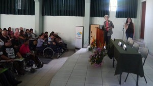 Presentation In Yancana Huasy Anniversary Celebration