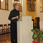 2. Fr. James Grummer, SJ, gives a conference during the pre-Chapter days of reflection.