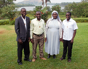 The Three New Novices And Sr Gertrude