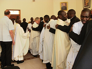 The Holy Cross Family Welcomes The Newly Professed