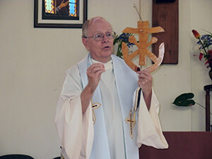 Fr Smith Shares About The Congregational Symbols In The Reception To The Novitiate