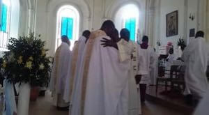 Three Priests Ordained For Holy Cross In Haiti
