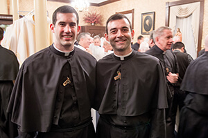 Michael Palmer, CSC, And Ryan Pietrocarlo, CSC, Celebrate Their Final Profession