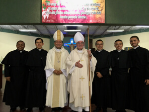 The Newly Professed With Bishops Izaguirre And Colgan