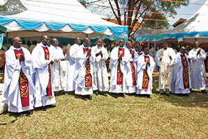 Record-Setting Ordination Class in East Africa