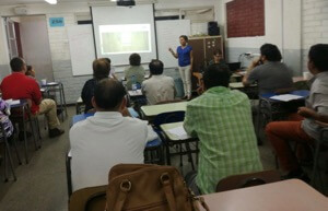 Ms Nova Of INFAM Leads One Of The Classes During The Summer Pastoral School