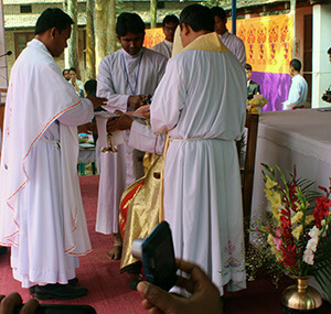 The Ordination of Fr. Bokrek, CSC