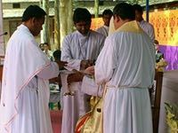 Two Priestly Ordinations in Bangladesh Bring Joy to Holy Cross