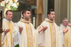 Newly Ordained Priests Palmer and Pietrocarlo