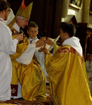 Fr Marc Valentin, CSC's Ordination in Angers, France