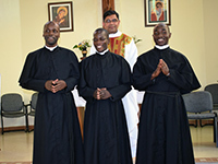 First Professions Bring Joy to Holy Cross in East Africa