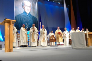 Fr Moreau Beatification in 2007