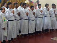 Large Classes Profess and Enter Novitiate in Bangladesh